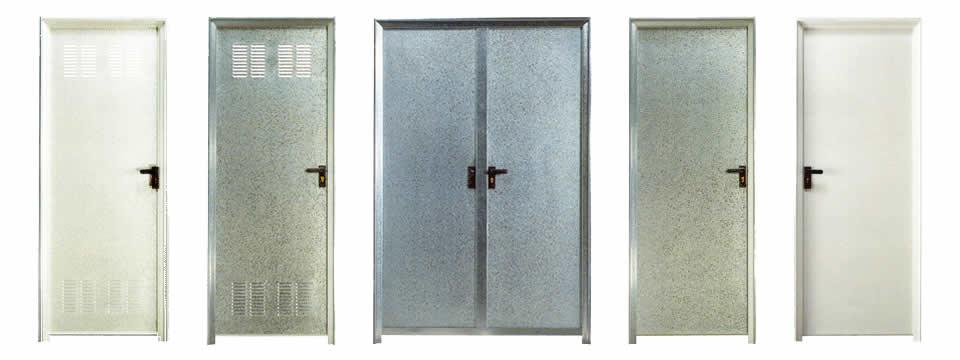 Puertas de chapa galvanizada con las mejores colecciones - Puerta chapa galvanizada ...